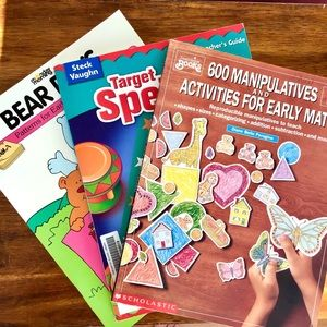 Book Bundle - Kid's Math Spelling Teacher Guides